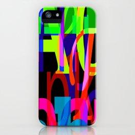 alphabet 2 iPhone Case