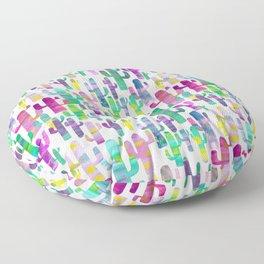 Watercolor Cacti - Pinks - Saguaros Floor Pillow
