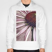 chic Hoodies featuring coneflower chic by inourgardentoo