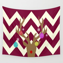 Oh Rudolf Wall Tapestry
