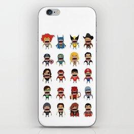 Screaming Heroes iPhone Skin