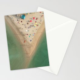 Aerial Koh Phangan Beach Thailnad Stationery Cards