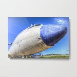 Malev Tupolev TU-154 Metal Print