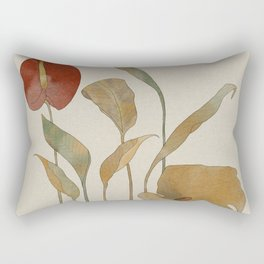 Spring Flowers  Rectangular Pillow