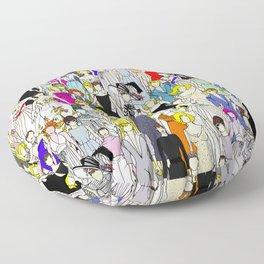 Tokyo Punks Two Floor Pillow