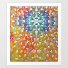 Star Magic Above Art Print