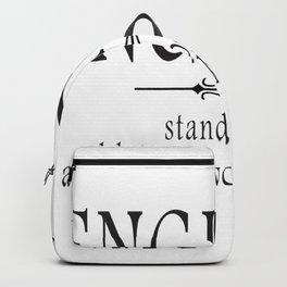 Engineer - Stand back! Backpack