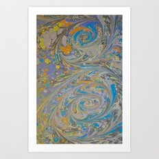 Marble Print #16 Art Print