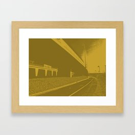Bridge 9 Framed Art Print