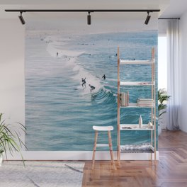 Catch A Wave Wall Mural