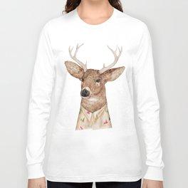 White Tailed Deer Long Sleeve T-shirt