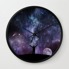 Breathe Wall Clock