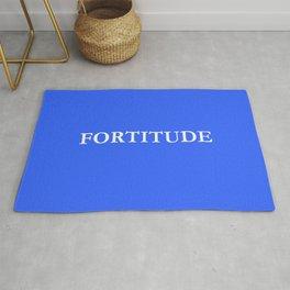 fortitude 1 - Blue version Rug