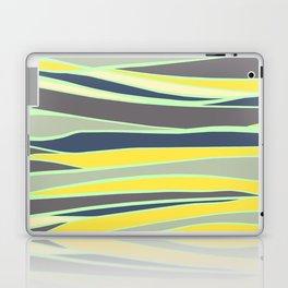 banana, mint and gray stripes  Laptop & iPad Skin