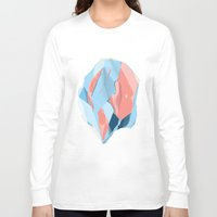 stone Long Sleeve T-shirts featuring Stone by Toros Köse Design