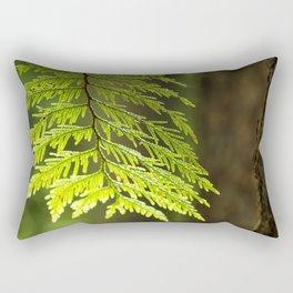 Forest Light Rectangular Pillow