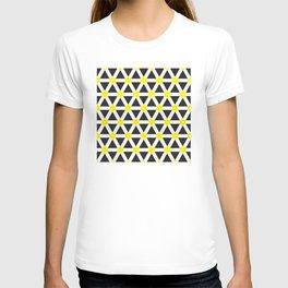 Geometric Pattern 116 (Yellow cross) T-shirt