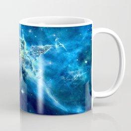 GALAxY Mystic Mountain Blue Coffee Mug