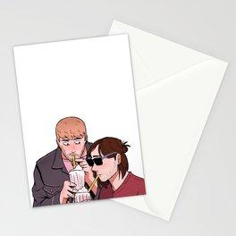 Stucky date Stationery Cards