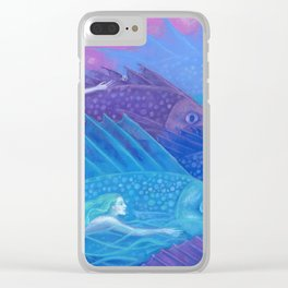Ocean nomads Clear iPhone Case