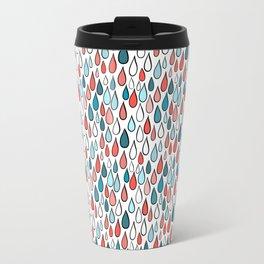 Rainy day pattern Travel Mug