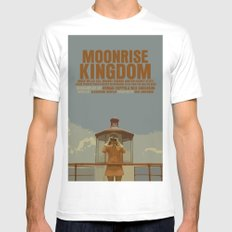 Moonrise Kingdom MEDIUM Mens Fitted Tee White