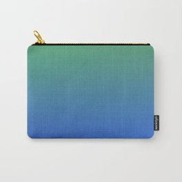 RESTING STATE - Minimal Plain Soft Mood Color Blend Prints Carry-All Pouch