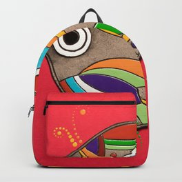 Fish which fulfills three wishes Backpack