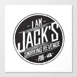 Smirking Revenge Canvas Print