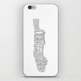 New York City Neighborhoods iPhone Skin