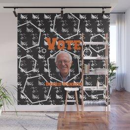 Vote Bernie Sanders Wall Mural