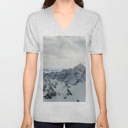 The Mountains Are Calling #3 Unisex V-Neck