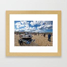 Festival of the Winds, Bondi Beach, Sydney Framed Art Print