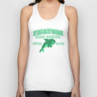 iwatobi Tank Tops featuring Iwatobi - Orca by drawn4fans