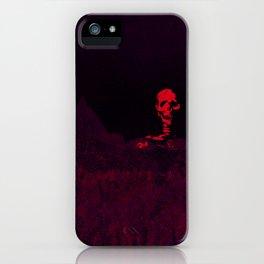 Aloft A Mountain [RED] iPhone Case