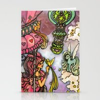 80s Stationery Cards featuring 80s dreamscape by Charlie L'amour