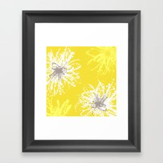 Sunflower Sprinkle Framed Art Print