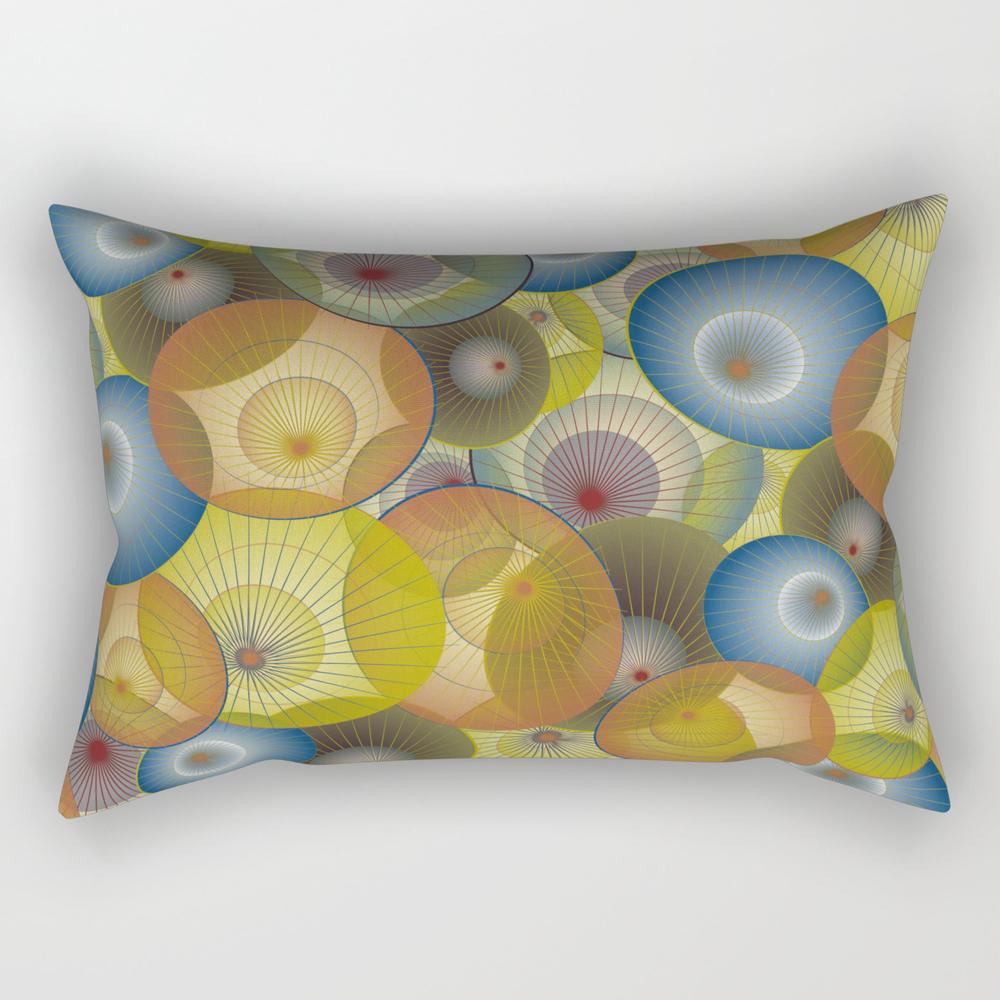 Parasols Rectangular Pillow by dancingbird (RPW9951329) photo