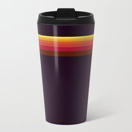 Sun Stripes Metal Travel Mug