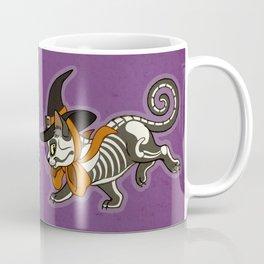 Halloween Witch Kitty Coffee Mug