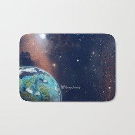 Beyond Infinity   Vacation Planet Bath Mat