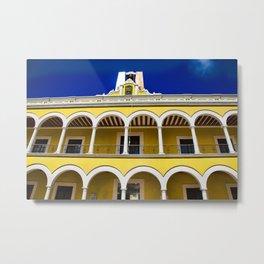 """palacio municipal"" campeche Metal Print"