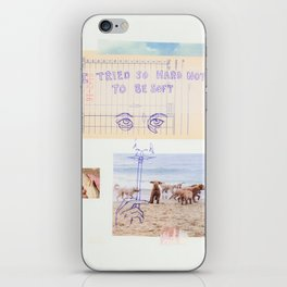 to be soft iPhone Skin