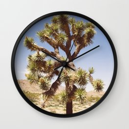 Joshua Tree (Color) Wall Clock