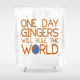 gingers world Shower Curtain