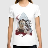jaws T-shirts featuring Jaws by Colo Design