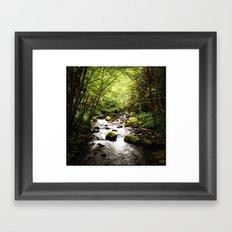 Herman Creek, OR Framed Art Print