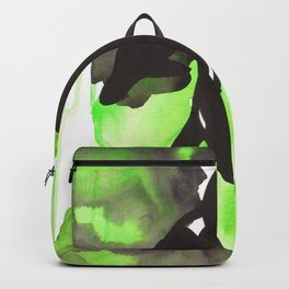 Diving Orca - Light Green Backpack