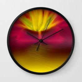Light bloom Wall Clock