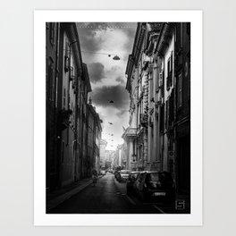Brescia Centrale Art Print